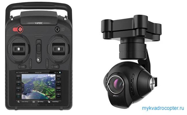 Камера и аппаратура управления квадрокоптера Yuneec Typhoon q500 4k