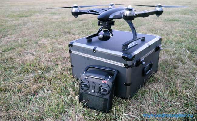 квадрокоптер yuneec q500 с кейсом