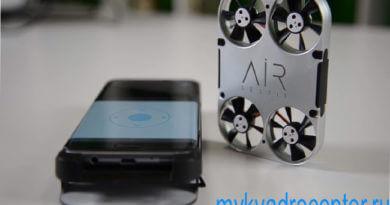 квадрокоптер с видео камерой