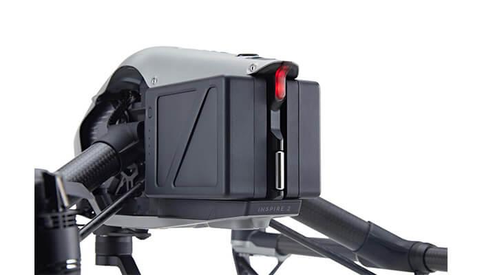 квадрокоптер DJI Inspire 2 аккумулятор