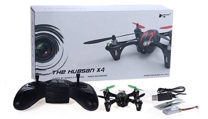 комплектация Hubsan X4 H107