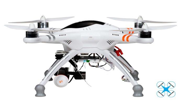 Walkera QR X350 Pro вид сбоку