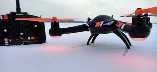 Eachine Pioneer E350 dron - Eachine Pioneer E350 красивый и мощный квадрокоптер с GPS.