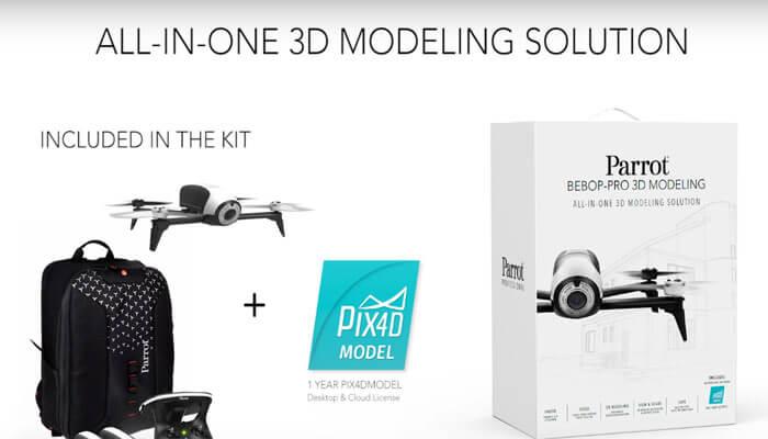 Parrot-Bebop-Pro-3D-Modeling-pack
