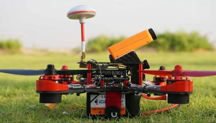 Realacc GX210 na trave