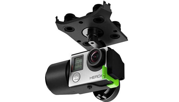 квадрокоптер 3DR-Solo камера