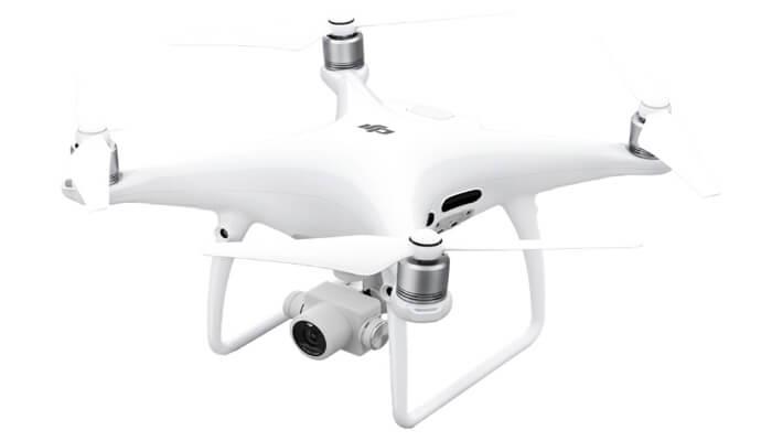 обзор квадрокоптера DJI phantom 4 pro