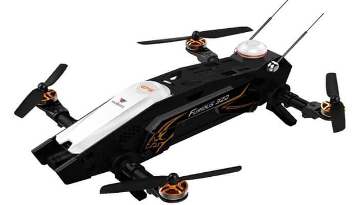квадрокоптер Walkera Furious 320 вид сверху