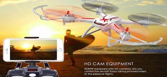 SYMA-X54HW Syma X54HW и Syma X54HC вариант для первого дрона.
