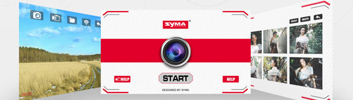 приложение квадрокоптера syma