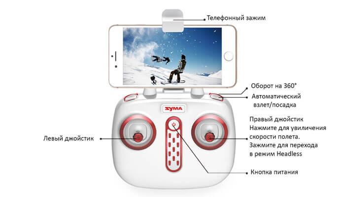 пульт-квадрокоптера-со-смартфоном