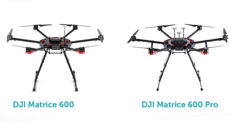 DJI Matrice 600 и DJI Matrise 600 Pro