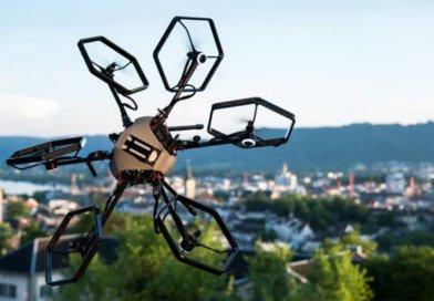 В Швейцарии создан прототип дрона с изменяемым положением двигателей.