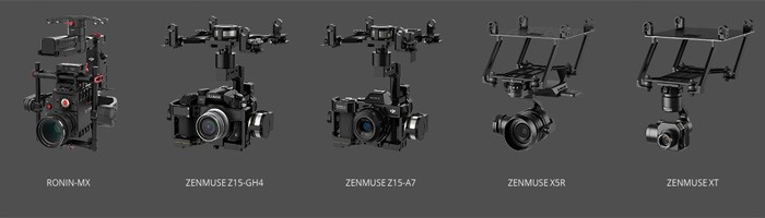 dji-matrice-600-камеры