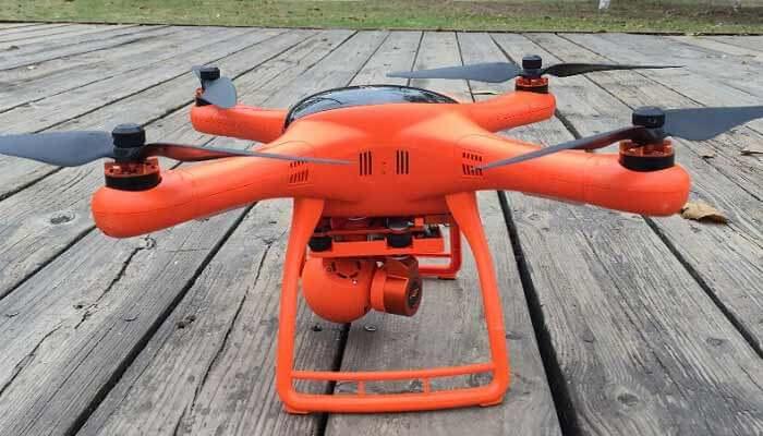 obzor drona wingsland scarlet minivet