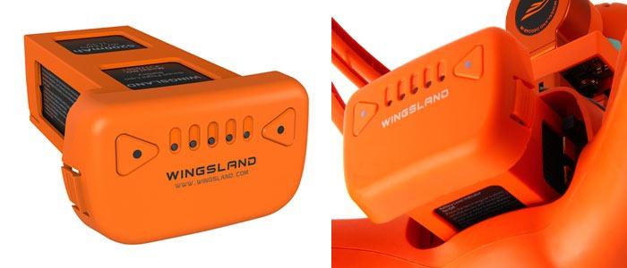 wingsland scarlet minivet akkumulyator