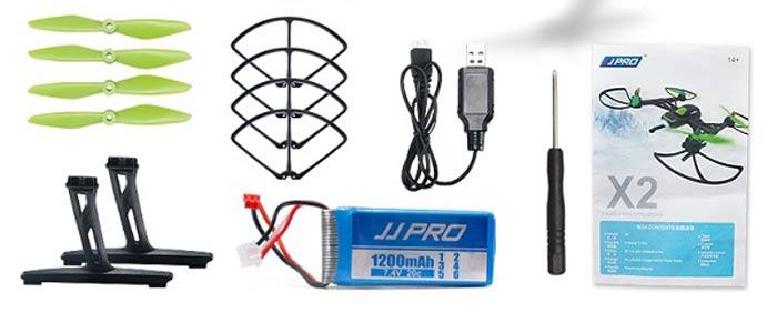 JJPRO-X2-комплектация