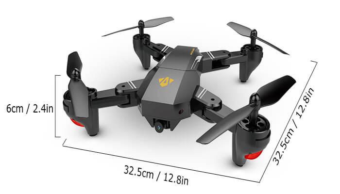 VISUO-XS809W-размеры