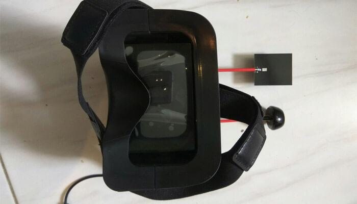 Eachine VR D2 PRO foto sverhu