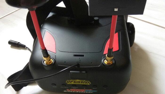 Eachine VR D2 PRO upravleniya knopki