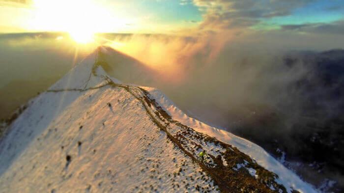 альпы франция фото с квадрокоптера