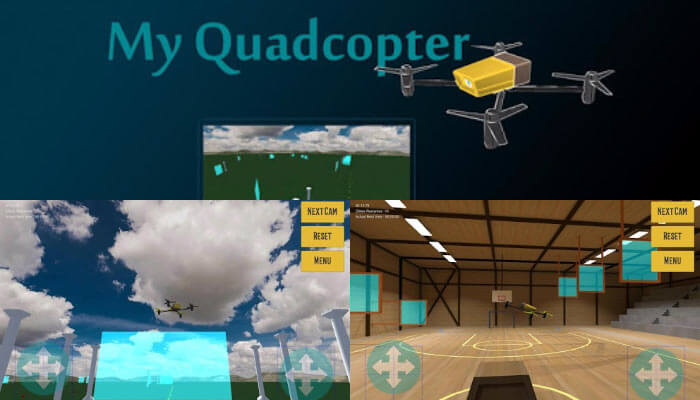 My Quadcopter Simulator - My Quadcopter Simulator: управляй дроном дистанционно.