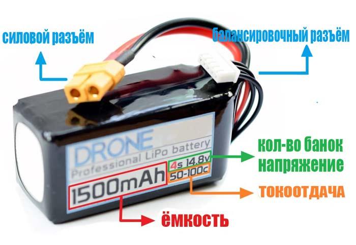 Сменная батарея к коптеру spark дроны с камерами с wifi