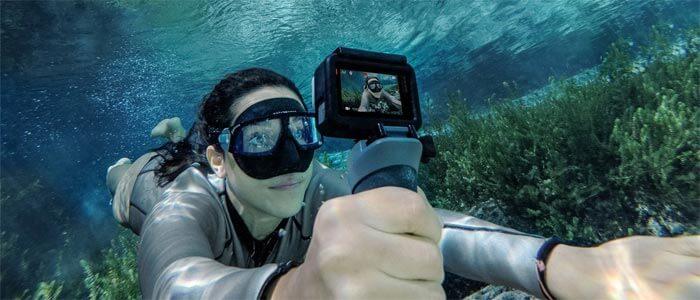 GoPro HERO6 devushka - Новинки от компании GoPro: камеры Fusion и HERO6 Black.