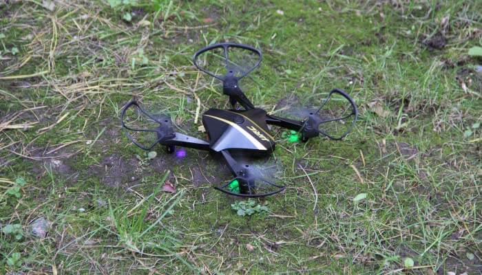 H44WH дрон на земле