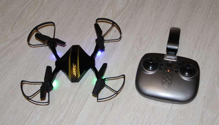 JJRC H44WH дрон с пультом