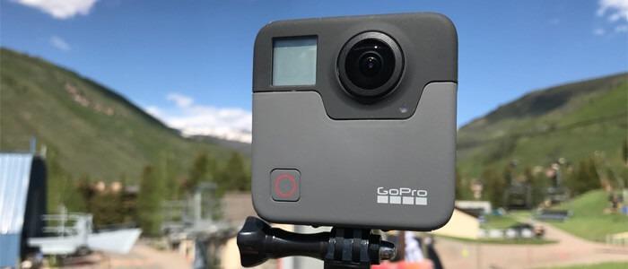 gopro fusion camera - Новинки от компании GoPro: камеры Fusion и HERO6 Black.