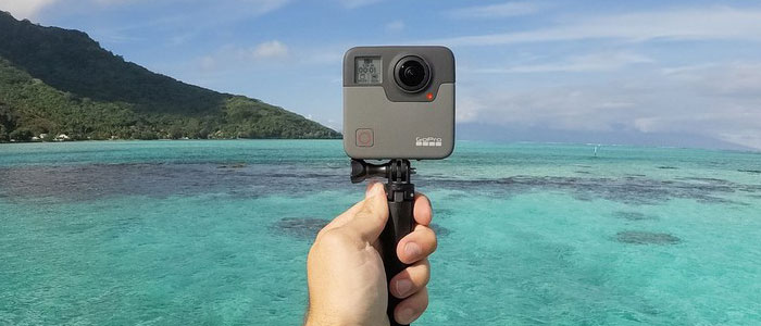 gopro fusion kamera selfi - Новинки от компании GoPro: камеры Fusion и HERO6 Black.
