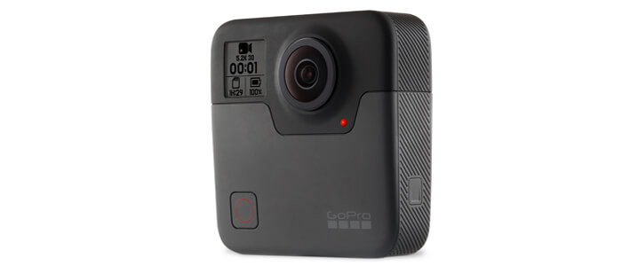 gopro fusion kamera - Новинки от компании GoPro: камеры Fusion и HERO6 Black.