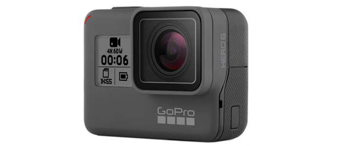 kamera GoPro HERO6 - Новинки от компании GoPro: камеры Fusion и HERO6 Black.