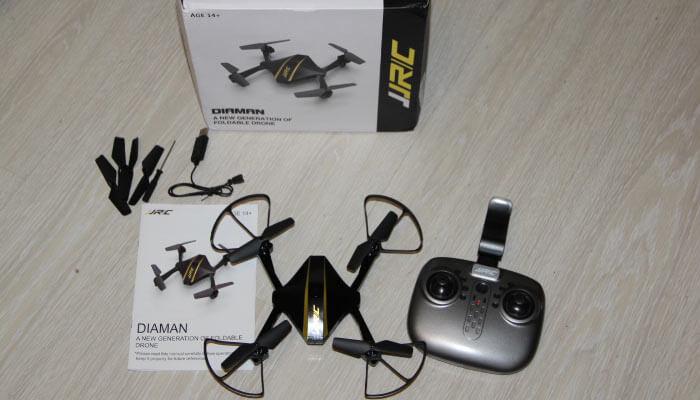комплектация дрона JJRC H44WH