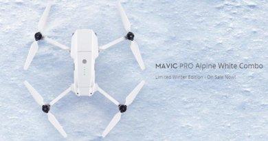DJI Mavic Pro Alpine White Combo