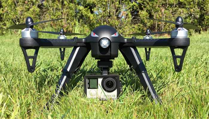 MJX Bugs 3 dron s gopro