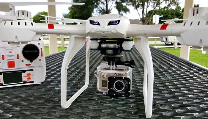 MJX X101 dron dlya kamer gopro