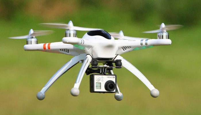 Walkera QR X350 Pro s kameroj gopro