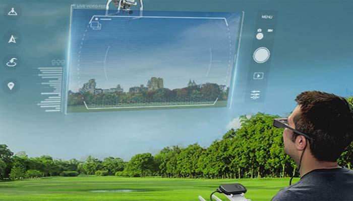 augmented-reality Симулятор от Epson и DJI.