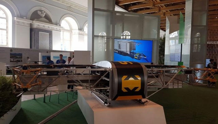 dron-skyf SKYF – покоритель стихии.