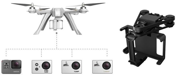 podves i kamery dlya MJX Bugs 3 Pro