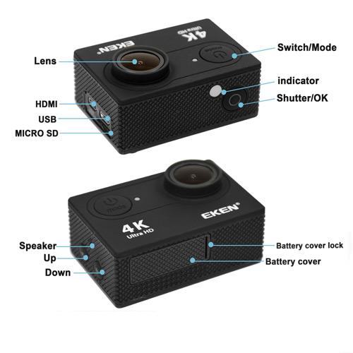 upravlenie i knopki kamery