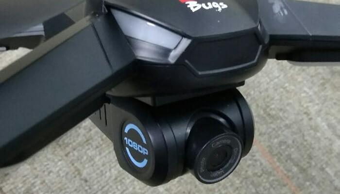 Bugs 5W kamera blizko