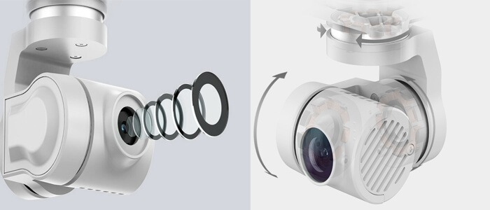podves i kamera Xiaomi FIMI X8 SE