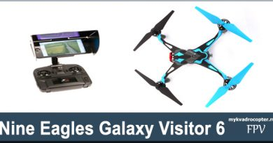 kvadrokopter Nine Eagles Galaxy Visitor .