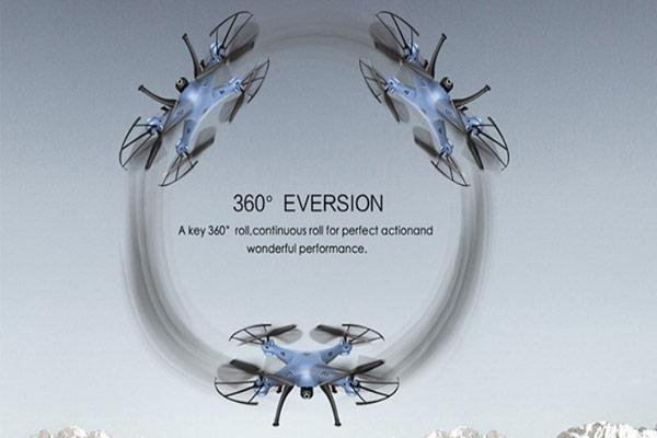 Syma X5HW 360 gradusov