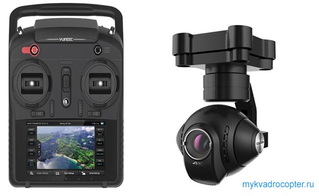 camera yuneec typhoon q500 4k