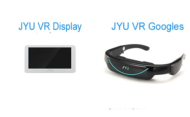 JYU VR Googles i display