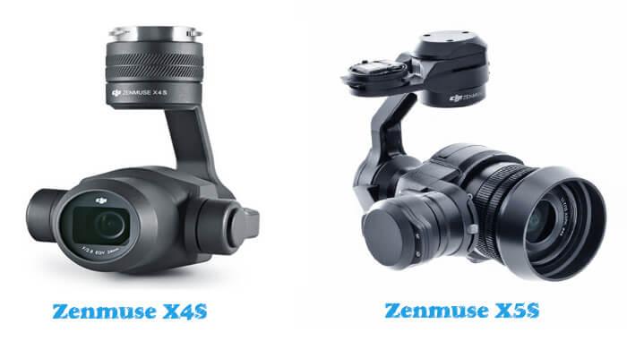 Inspire 2 Zenmuse X4S i Zenmuse X5S